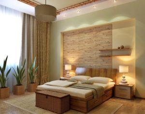 Экостиль в интерьере: мебель для спальни