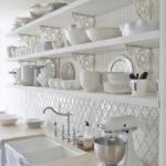 Кухня в стиле шебби шик - фото 15