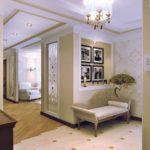 Стиль неоклассика в интерьере - отделка стен фото