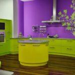Цветовое оформление интерьера: контрастная композиция фото 2