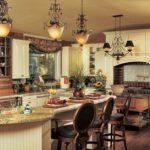 Стиль кантри в интерьере - кухонная мебель