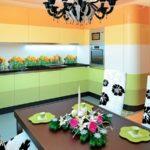 Цветовое оформление интерьера: контрастная композиция фото 3