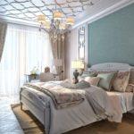 Стиль неоклассика в интерьере квартиры - спальная комната фото