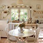 Кухня в стиле шебби шик - фото 4