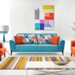 Цветовое оформление интерьера: контрастная композиция фото 5