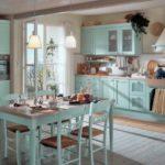 Кухня в стиле шебби шик - фото 5