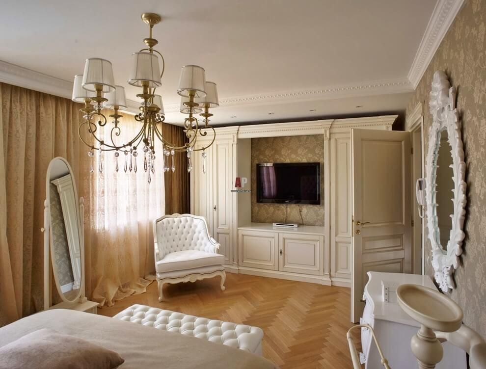 описать классический дизайн квартиры в картинка проект делали
