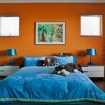 Цветовое оформление интерьера: контрастная композиция фото 6