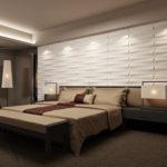 Бамбуковые 3д панели в интерьере фото