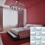 Бамбуковые стеновые 3д панели в интерьере фото