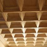 Кессонные потолки из дерева 2