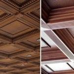 Кессонные потолки из дерева 3