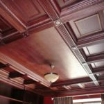 Кессонные потолки из дерева