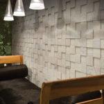 Стеновые 3д панели из дерева в интерьере фото