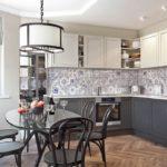 Стиль эклектика в интерьере кухни фото