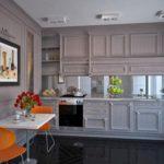 Стиль эклектика в интерьере кухни фото 4