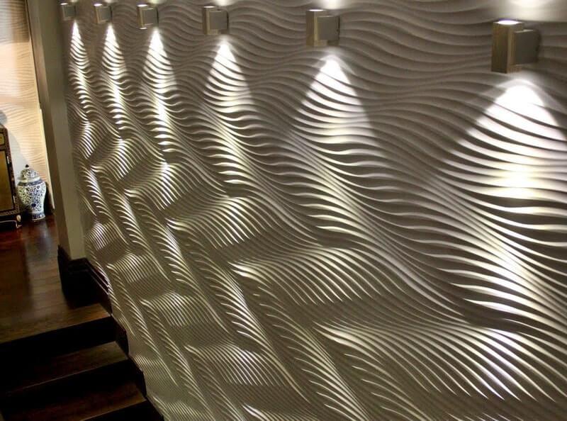 Стеновые 3д панели на основе мдф