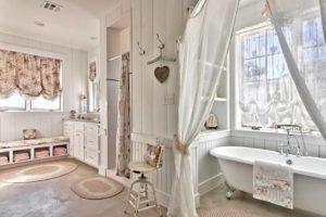 Дизайн ванной комнаты в прованском стиле