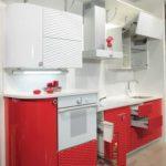 Оригинальные 3д фасады на кухне
