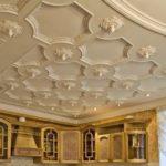 Кессонные потолки в интерьере 10