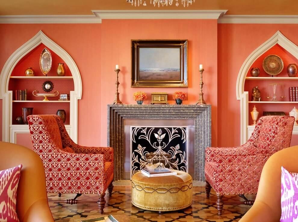 Марокканский стиль в интерьере - декор