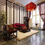 Китайский стиль в интерьере - центральная люстра в китайском стиле