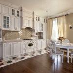 Кухня - столовая в стиле прованс фото