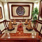 Китайский стиль в интерьере столовой