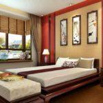 Интерьер спальни в китайском стиле фото