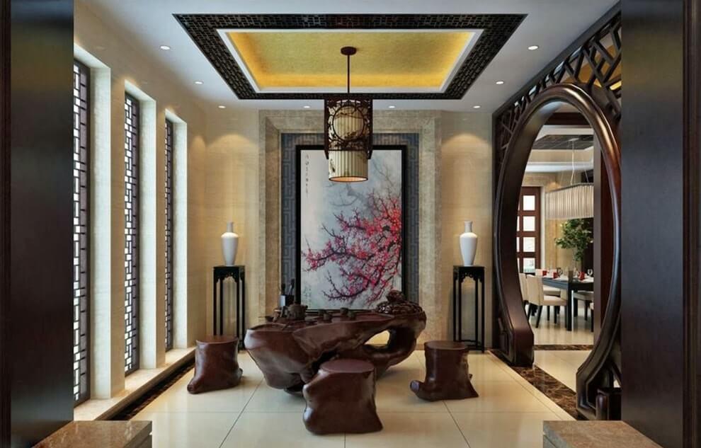 Дизайн интерьера в китайском стиле