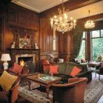 Дизайн гостиной в английском стиле фото