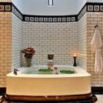 Интерьер ванной комнаты в китайском стиле