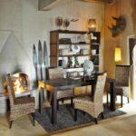 Африканский стиль в интерьере - мебель