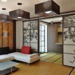 Японский стиль в интерьере - цвета