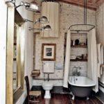 Ретро стиль в интерьере ванной