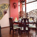Интерьер столовой в китайском стиле