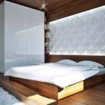 Дизайн спальной комнаты с 3д панелями фото