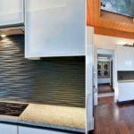 Оформление кухни с применением 3д панелей фото