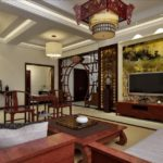Гостиная комната в китайском стиле