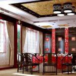Дизайн столовой в китайском стиле фото