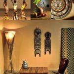 Африканский стиль в интерьере - декор