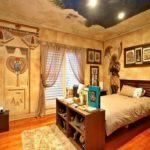 Интерьер спальни в египетском стиле фото