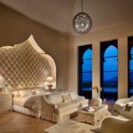 Марокканский стиль в интерьере спальной комнаты