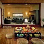 Японский стиль в интерьере - мебель