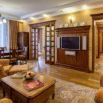 Оформление гостиной в английском стиле фото