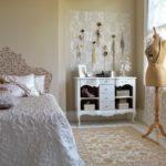 Спальная комната в стиле винтаж
