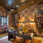 Интерьер кабинета в африканском стиле