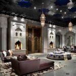 Марокканский стиль в интерьере гостиной фото