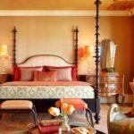 Марокканский стиль в интерьере спальной комнаты фото