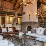 Интерьер частного дома в африканском стиле